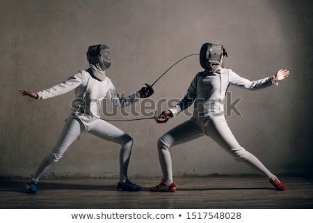 Fencers Stock photo © IS2