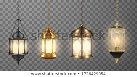 Chain of lanterns Stock photo © odina222