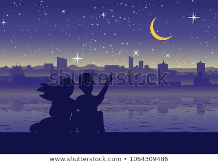 Couple by riverside Stock photo © IS2