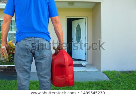 Stock photo: Arsonist And Arson
