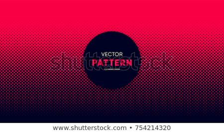 Monokróm halftone szett vektor fehér minimális Stock fotó © TRIKONA
