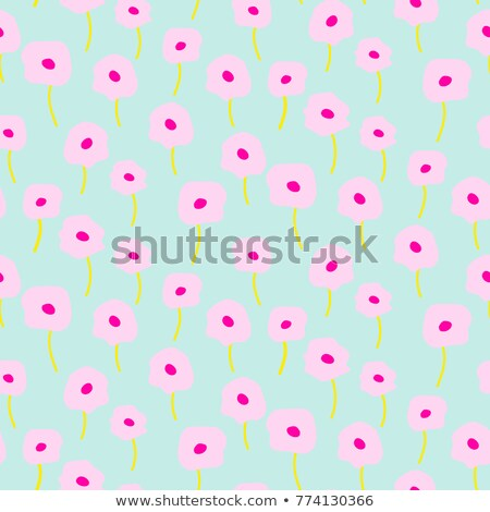 Tendre bleu rose pavot lumière couleur Photo stock © yopixart