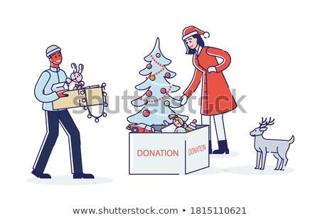 Man paar volwassen speelgoed illustratie homo Stockfoto © lenm