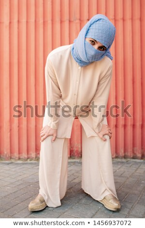 Contemporary young islamic woman in hijab and casual attire Stock photo © pressmaster