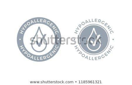 ürün logo etiket paket dermatoloji test Stok fotoğraf © Winner