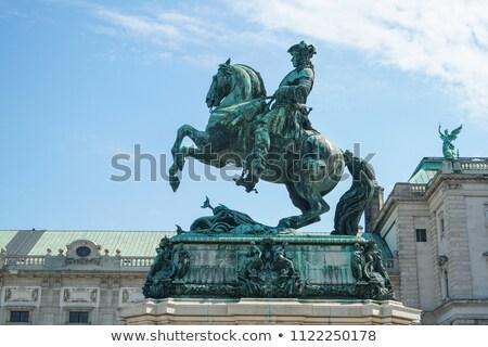 Imperador Viena estátua escultor Áustria Foto stock © borisb17