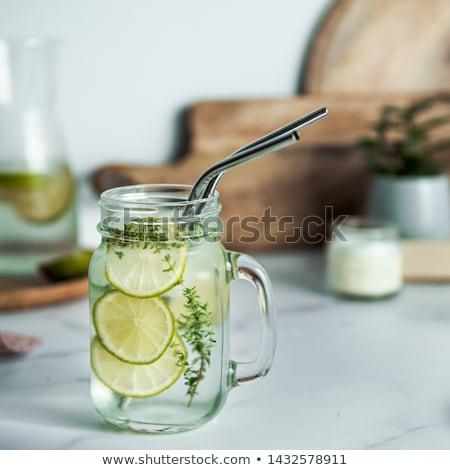 Zero waste eco friendly kitchen interior banner Stock photo © vectorikart