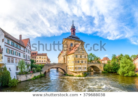 Old Town Hall in Bamberg, Germany Stock photo © borisb17
