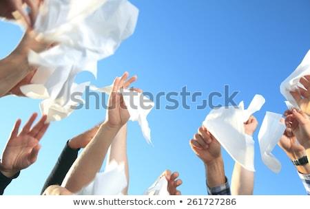 Handkerchief on the Sky Stock photo © Lopolo
