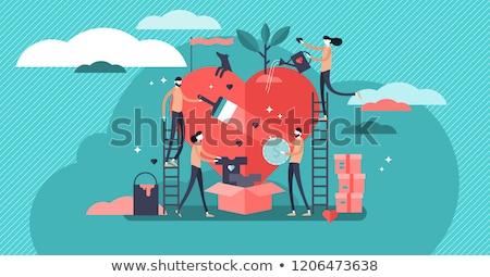 Donation abstract concept vector illustration. Stock photo © RAStudio