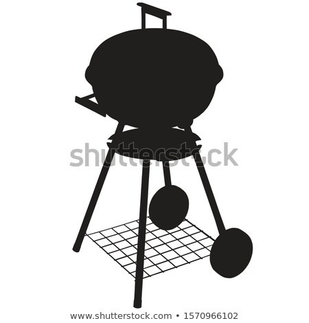 Barbeque silhouettes Stock photo © sifis