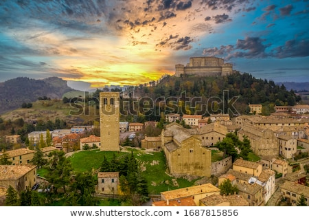 Tower of the fortress of San Leo Stock photo © aladin66