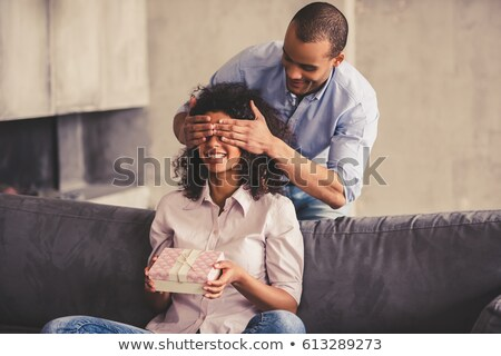Man about to surprise woman Stock photo © photography33