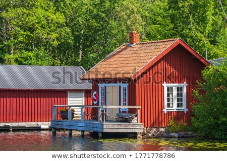 swedish cottage  Stock photo © mikdam