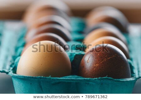 Easter Multi Colored Eggs Stock photo © saje