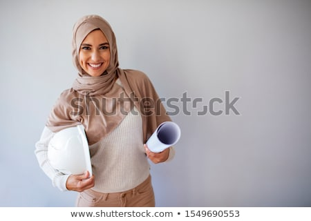 young female architect and foreman Stock photo © photography33