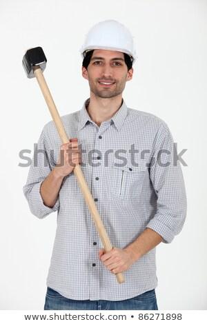 I got a sledgehammer. Stock photo © photography33