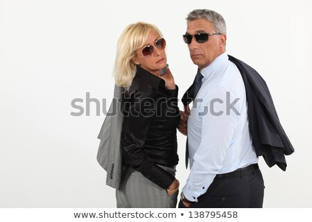 Husband and wife hitting the town Stock photo © photography33
