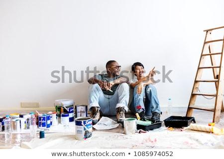 DIY couple Stock photo © photography33