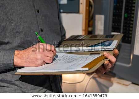 Electrical inspectors at work Stock photo © photography33