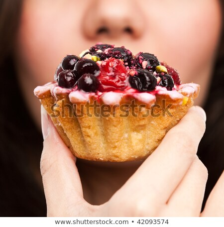 Woman eating currants Stock photo © photography33