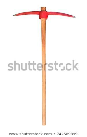 pick axe isolated on white stock photo © shutswis