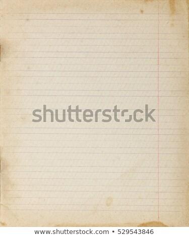 ベージュ · 紙 · 混沌とした · 行 · キー - ストックフォト © witthaya