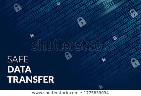 Data transferring concept Stock photo © 4designersart