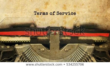 Działalności biuro tle niebieski usługi informacji Zdjęcia stock © tashatuvango
