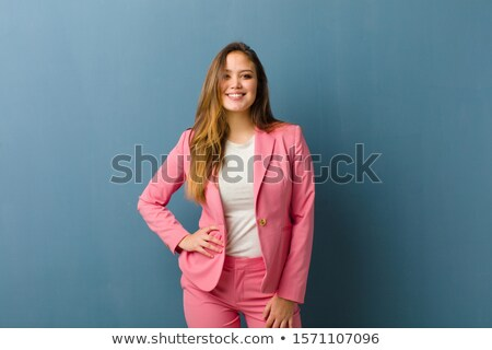 Attractive businesswoman hand on hip Stock photo © filipw