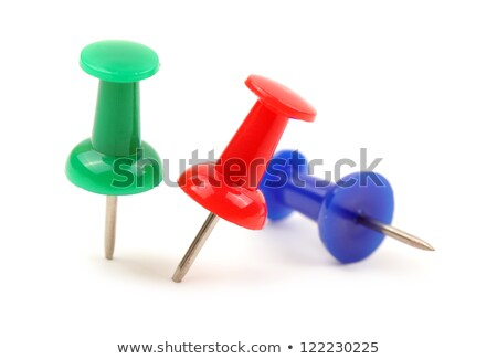 green pushpin stock photo © alexmas