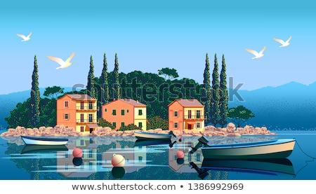 Harbor in France Stock photo © ivonnewierink