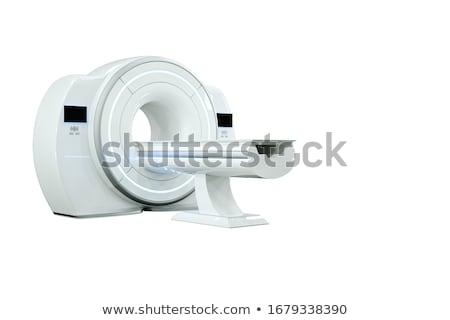 Mri afbeelding witte computer gezondheid Stockfoto © mastergarry