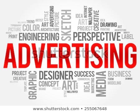 3D · internet · marketing · szófelhő · 3d · render · üzlet · internet - stock fotó © tashatuvango