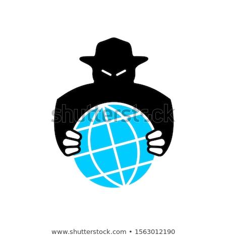 Devil hold earth globe. Stock photo © Kirill_M