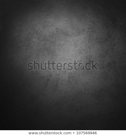 Abstract nero vecchio confine frame bianco Foto d'archivio © oly5