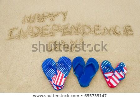 Iindependence day Wave Stock photo © rioillustrator