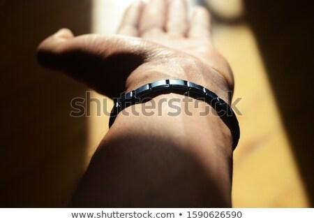 Magnético pulseira saúde ouro muscular Foto stock © mady70