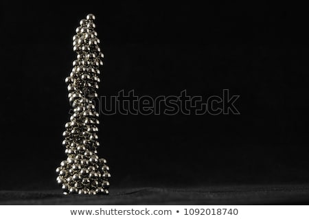 Kubus magnetisch groep bal Stockfoto © jackethead