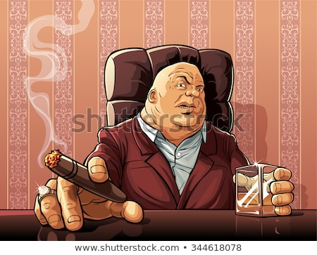 Mafia Boss Stock photo © araga