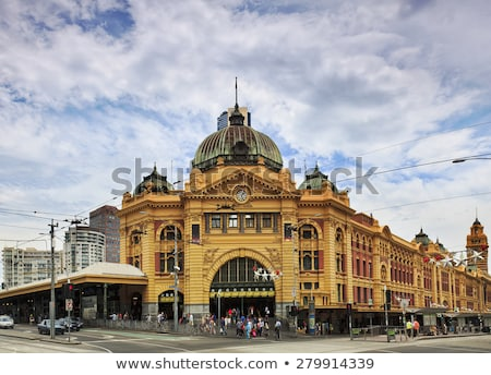 Flinders Street Station Stock photo © leetorrens
