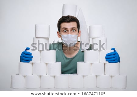 Frightened man Stock photo © disorderly