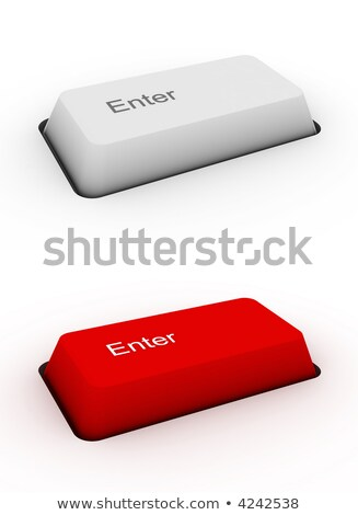 Print on Red Keyboard Button 'Enter'. Stock photo © tashatuvango