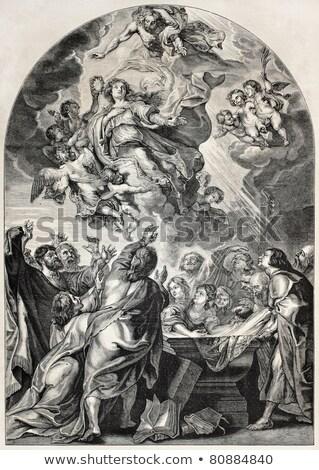 Historical religious engravings Stock photo © speedfighter