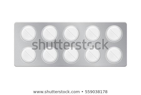 治す パック 錠剤 緑 オープン ストックフォト © tashatuvango