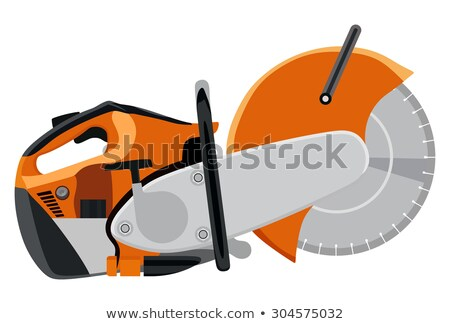 circular saw with two hands  Stock photo © OleksandrO