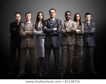 vrouwelijke · manager · mannelijke · aanvrager · heldere - stockfoto © hasloo
