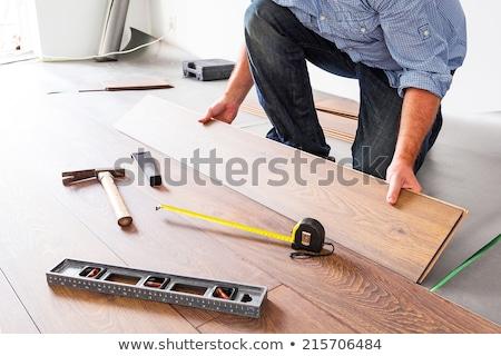 Wood flooring and tools Stock photo © Valeriy