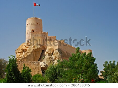 Fort Nakhl, Sultanate of Oman  Stock photo © meinzahn