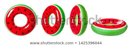 Green swim ring Stock photo © magraphics